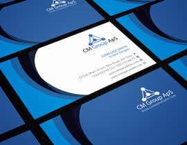 #20 untuk Design nogle Visitkort for CM Group ApS oleh rimskik