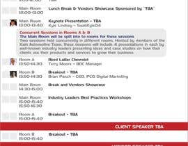 dyv tarafından I need some Graphic Design for an Event Agenda - repost için no 3