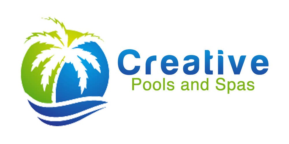 #9 for Design a Modern Logo for Creative Pools and Spas by rivemediadesign