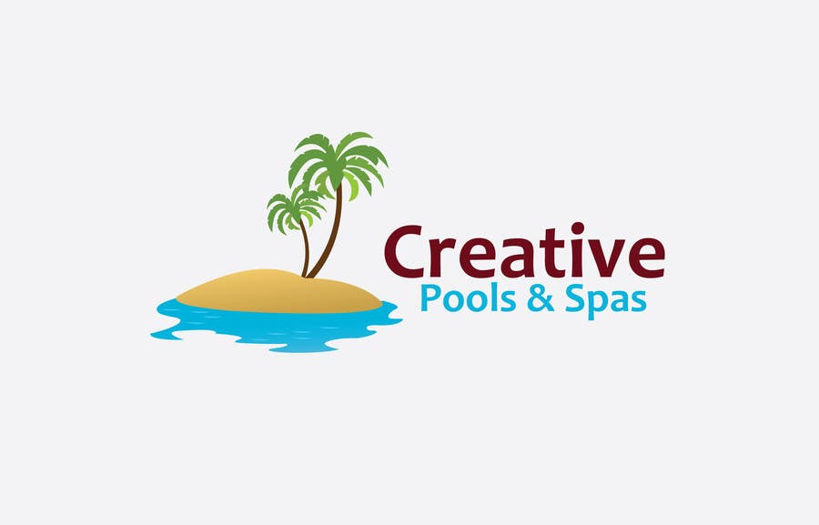 Contest Entry #184 for Design a Modern Logo for Creative Pools and Spas