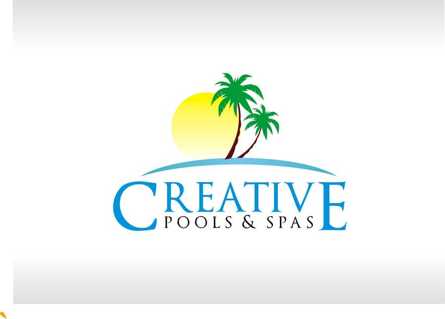 Contest Entry #187 for Design a Modern Logo for Creative Pools and Spas