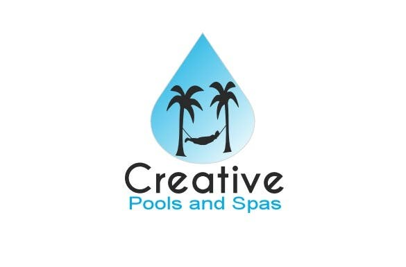 #13 for Design a Modern Logo for Creative Pools and Spas by riadbdkst