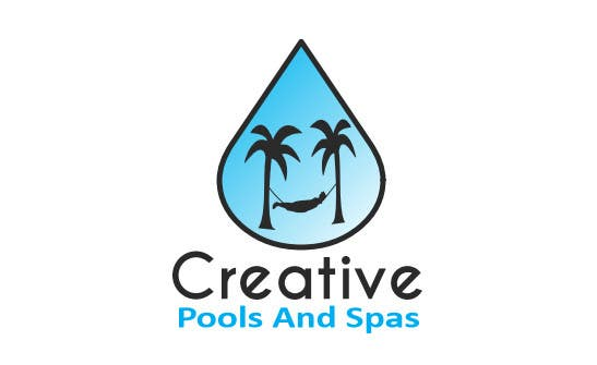 #16 for Design a Modern Logo for Creative Pools and Spas by riadbdkst