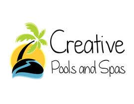 FrancescaPorro tarafından Design a Modern Logo for Creative Pools and Spas için no 35