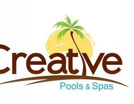 Simental02 tarafından Design a Modern Logo for Creative Pools and Spas için no 50