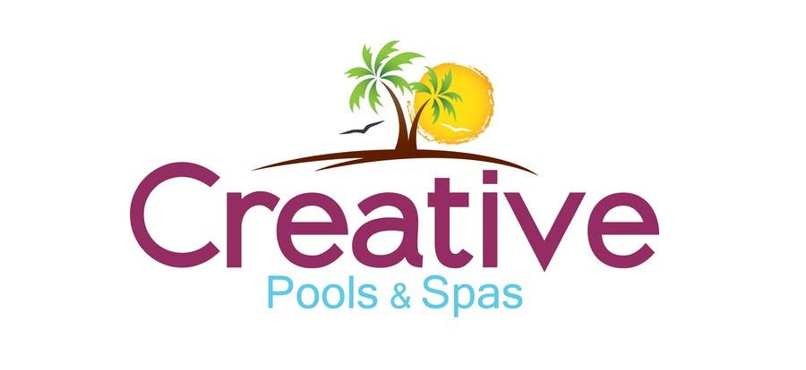 Contest Entry #177 for Design a Modern Logo for Creative Pools and Spas