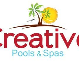 Simental02 tarafından Design a Modern Logo for Creative Pools and Spas için no 186