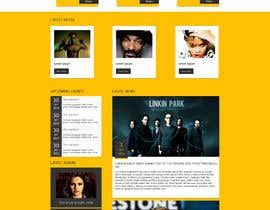 #8 para Design a Website Mockup for welloffbeats.com - repost por webcloud9