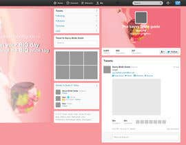 #2 untuk Design a Twitter background for a wedding eBook oleh nucle