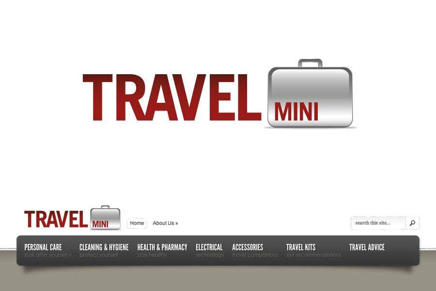 Proposition n°                                        86                                      du concours                                         Graphic Design for Logo for Travel Mini