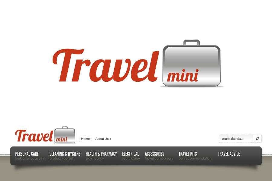 Proposition n°                                        44                                      du concours                                         Graphic Design for Logo for Travel Mini