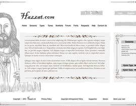 #65 para Design a Website Mockup for Hazzat.com por king5isher