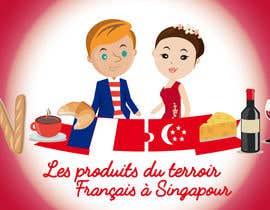 nº 7 pour Illustrer le concept suivant : Les produits du terroir Français à Singapour par mariansimone