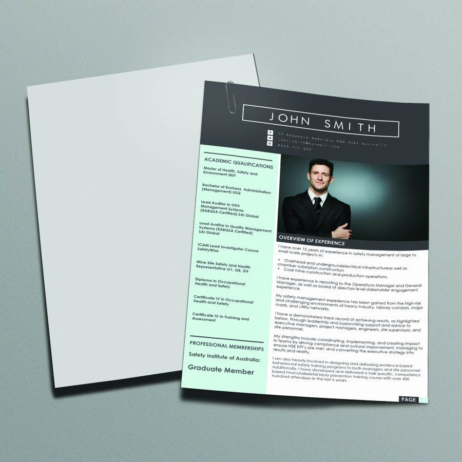 entry #31 by ciprilisticus for creative resume design layout