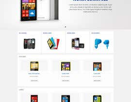 #84 for Design a Website Mockup for Nokia Online Shop - repost af Pavithranmm
