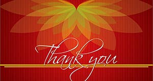 #7 for Design some Stationery for a Corporate Thank you card by graphics15