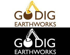 nº 146 pour Logo & Stationery Design for GO DIG EARTHWORKS par luciofercios