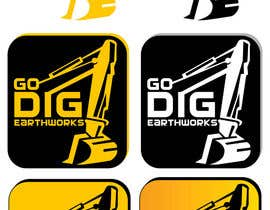 #98 para Logo & Stationery Design for GO DIG EARTHWORKS por mohyehia