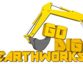 #81 untuk Logo & Stationery Design for GO DIG EARTHWORKS oleh blend4design