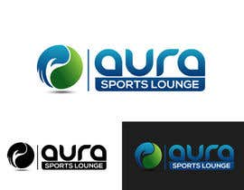 #66 for AURA Sports Lounge - LOGO af texture605