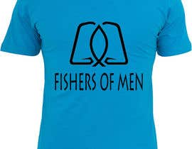 #59 untuk Fishers of Men T-shirt design contest oleh canguitmaileen