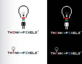"nº 104 pour Design a Logo for ""Think In Pixels"" par GeorgeOrf"