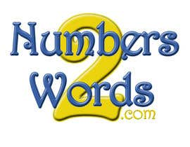 #1 untuk Design a logo for www.numbers2words.com oleh ShopaholicChick
