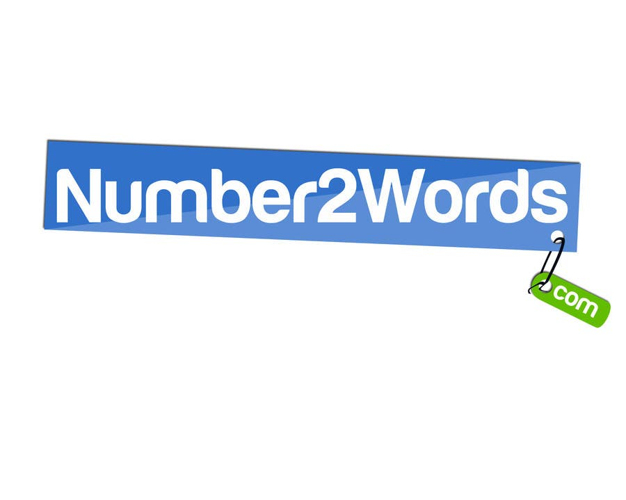 #129 for Design a logo for www.numbers2words.com by labdou