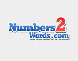 #51 untuk Design a logo for www.numbers2words.com oleh arispapapro