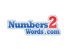 #80 untuk Design a logo for www.numbers2words.com oleh arispapapro