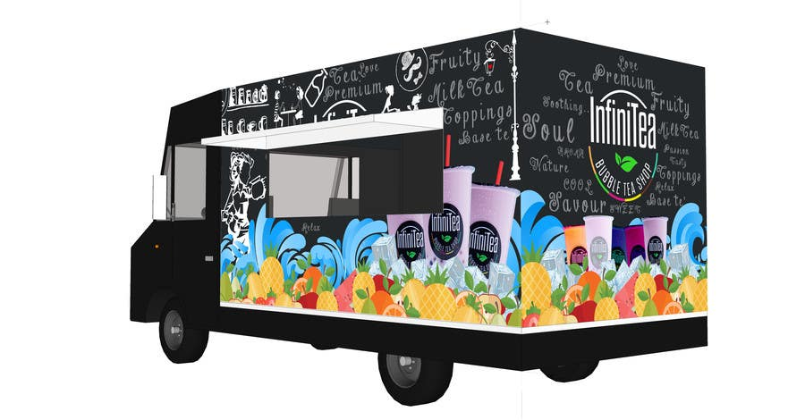 Food truck design freelancer for Design your food truck