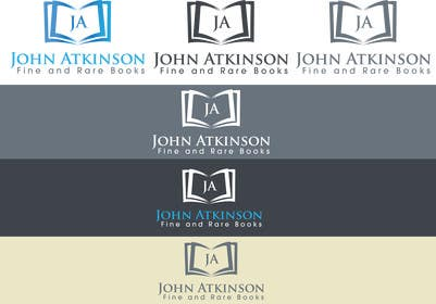#37 untuk Design a Logo for John Atkinson Fine and Rare Books oleh iffikhan