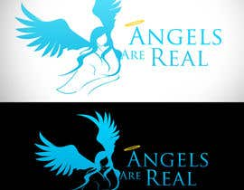 nº 93 pour Angels Are Real Logo Design par bamz23