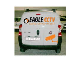 #6 para EagleCCTV Vehicle Branding Design por rogerweikers