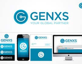 #76 para Develop a Corporate Identity for Genxs por jethtorres