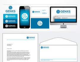 #83 untuk Develop a Corporate Identity for Genxs oleh jethtorres