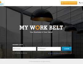 #1 for Design a Website Mockup for www.myworkbelt.com by suryabeniwal