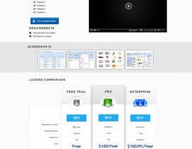 nº 3 pour Software Pricing and Feature Presentation Page with Graphics par codeunderground