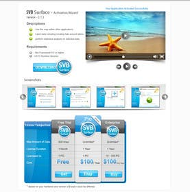 #7 for Software Pricing and Feature Presentation Page with Graphics by dreamstudios0