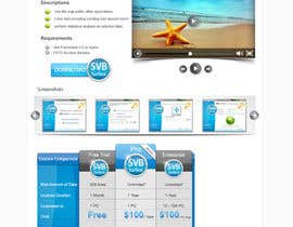 nº 7 pour Software Pricing and Feature Presentation Page with Graphics par dreamstudios0