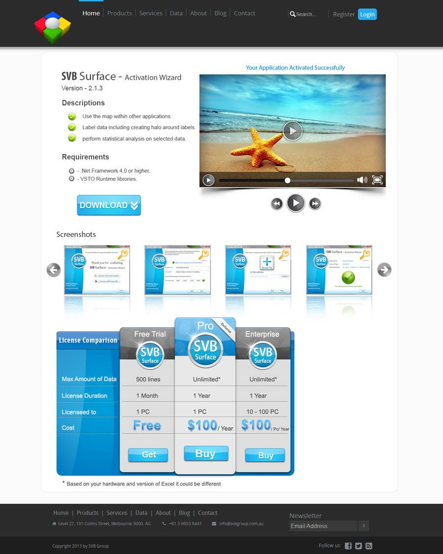 #8 for Software Pricing and Feature Presentation Page with Graphics by dreamstudios0