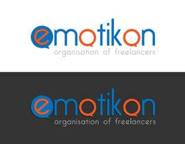 #71 for Design a logo for a webdesign company called emotikon by Kkeroll