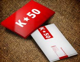 Nro 28 kilpailuun Business cards design for K50 (Разработка визитных карточек) käyttäjältä stoyanvasilev98