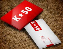 #28 untuk Business cards design for K50 (Разработка визитных карточек) oleh stoyanvasilev98