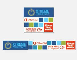 #23 untuk Design a Banner for Office 365 for Charities Ad Campaign oleh SueKocian