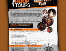 #22 para Design a Flyer for our january tour por amitroy777