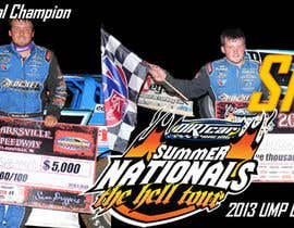 nº 6 pour Design a Banner for Brandon Sheppard Racing par alek2011