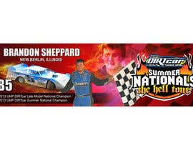#5 for Design a Banner for Brandon Sheppard Racing af prasanthmangad
