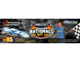 #16 for Design a Banner for Brandon Sheppard Racing af prasanthmangad