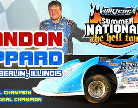 nº 24 pour Design a Banner for Brandon Sheppard Racing par pris